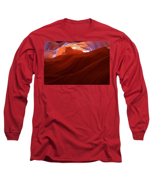 Long Sleeve T-Shirt featuring the photograph Antelope View by Jonathan Davison