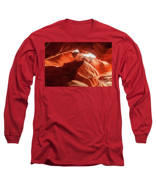 Antelope Canyon, Howling Wolf Long Sleeve T-Shirt