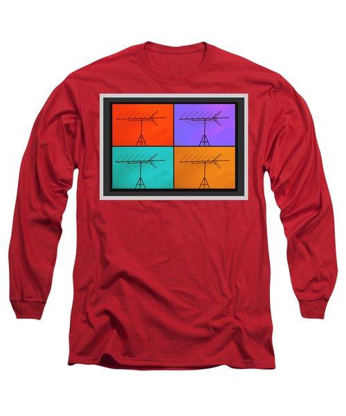 Antenna Pop 1 Long Sleeve T-Shirt