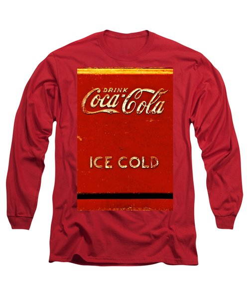 Antique Soda Cooler 6 Long Sleeve T-Shirt by Stephen Anderson