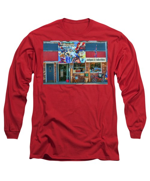 Antiques And Collectibles Long Sleeve T-Shirt by Trey Foerster