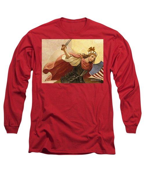 Apotheosis Of Washington 4 Long Sleeve T-Shirt