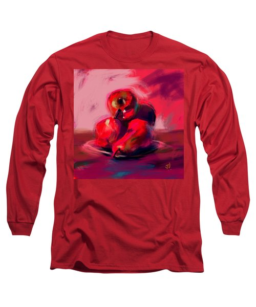 Apples And Pears Long Sleeve T-Shirt by Jim Vance