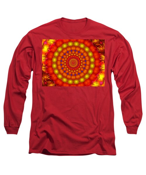 Long Sleeve T-Shirt featuring the digital art Arcadian Sky by Robert Orinski
