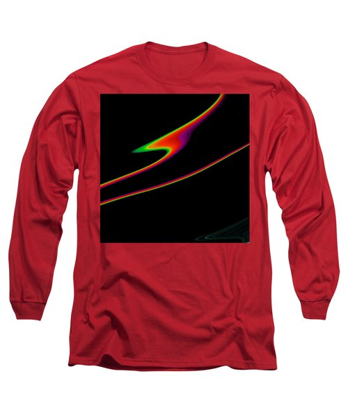Long Sleeve T-Shirt featuring the painting Arcs  C2014 by Paul Ashby