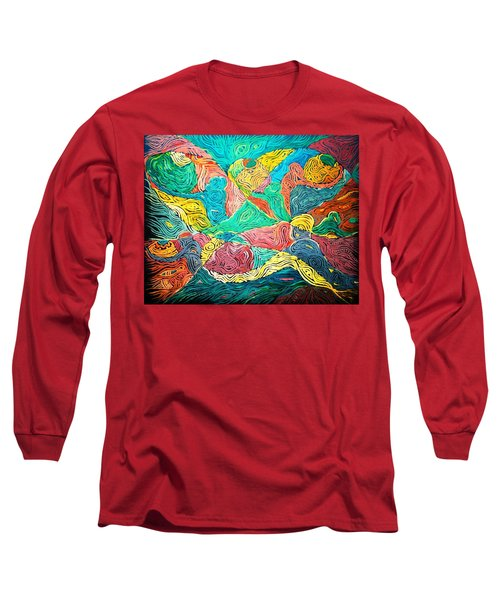 Argungun Fishing Festival Long Sleeve T-Shirt by Bankole Abe