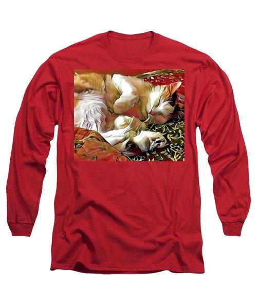 Aristokitty Long Sleeve T-Shirt by Ginny Schmidt