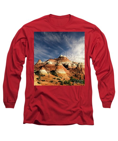 Long Sleeve T-Shirt featuring the photograph Arizona North Coyote Buttes by Bob Christopher