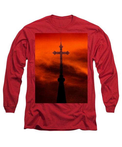 Armageddon The Wrath Of Hurricane Irma Long Sleeve T-Shirt