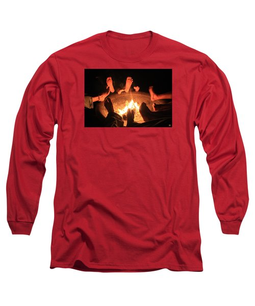 Around The Fireplace Long Sleeve T-Shirt