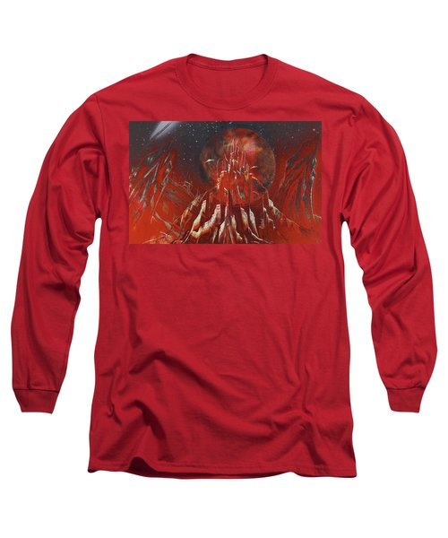 Arrival At Red Hill Long Sleeve T-Shirt