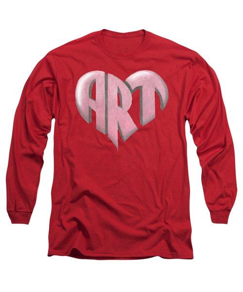 Art Heart Long Sleeve T-Shirt
