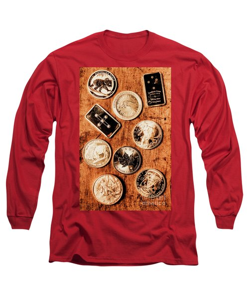 Art Of A Sliver Collector Long Sleeve T-Shirt