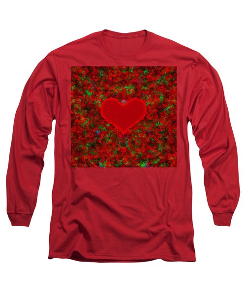 Art Of The Heart 2 Long Sleeve T-Shirt by Anton Kalinichev