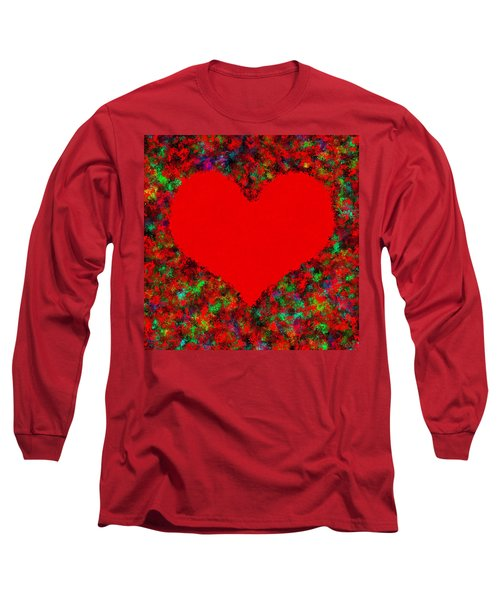Art Of The Heart Long Sleeve T-Shirt by Anton Kalinichev