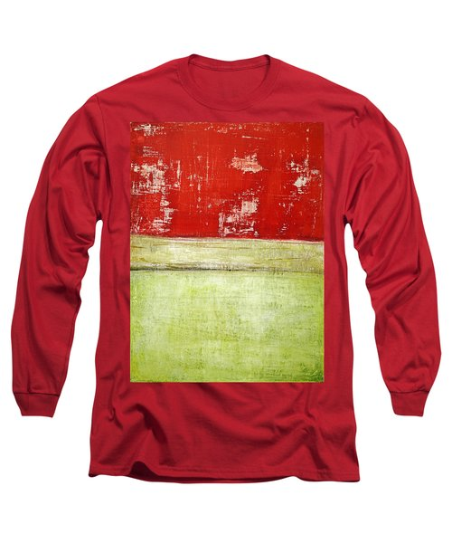 Art Print Rotgelb Long Sleeve T-Shirt