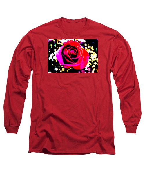 Artistic Rose - 9161 Long Sleeve T-Shirt by G L Sarti