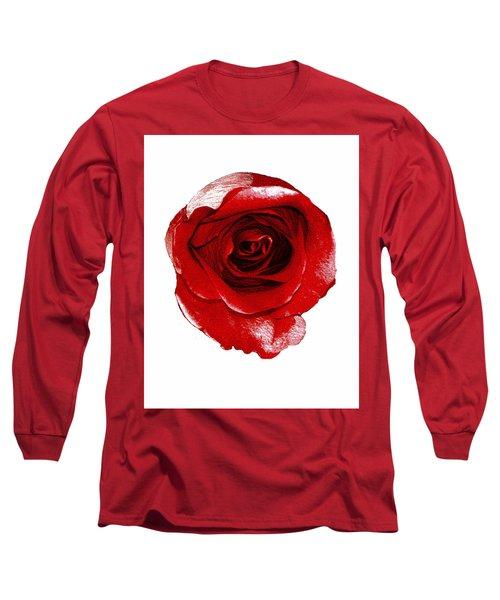 Artpaintedredrose Long Sleeve T-Shirt