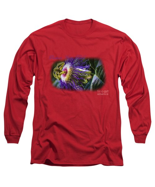 Passion Gone Wild - Product Design Long Sleeve T-Shirt by Barry Jones