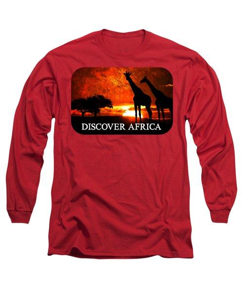 African Safari Long Sleeve T-Shirt