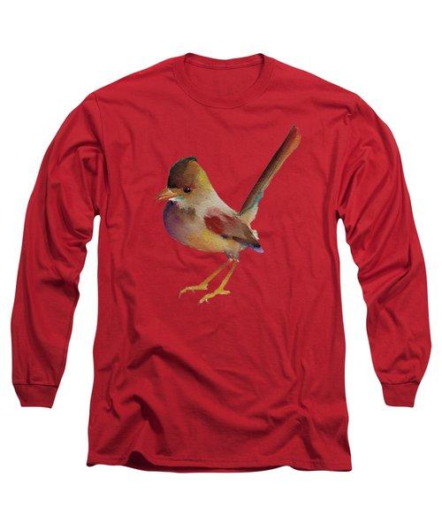 Wren Long Sleeve T-Shirt by Francisco Ventura Jr