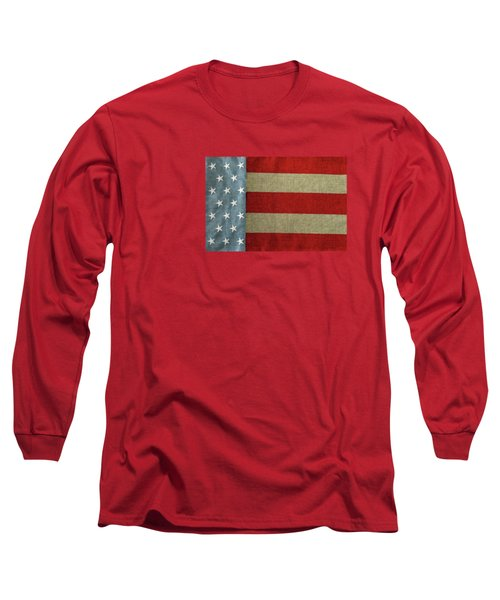 Long Sleeve T-Shirt featuring the photograph The Flag by Tom Prendergast