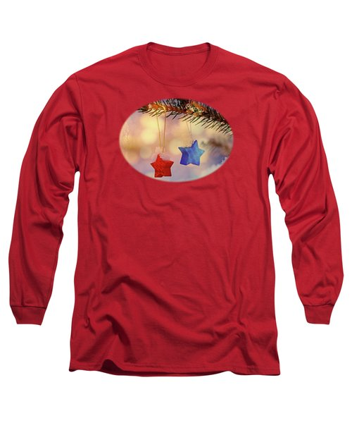 Snowstars Long Sleeve T-Shirt by AugenWerk Susann Serfezi