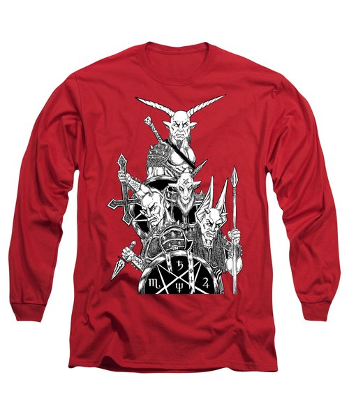 The Infernal Army White Version Long Sleeve T-Shirt