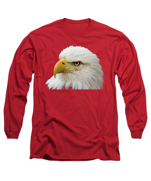 Eagle Eye Long Sleeve T-Shirt by Shane Bechler