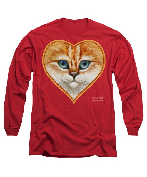 Happy Kitty Long Sleeve T-Shirt