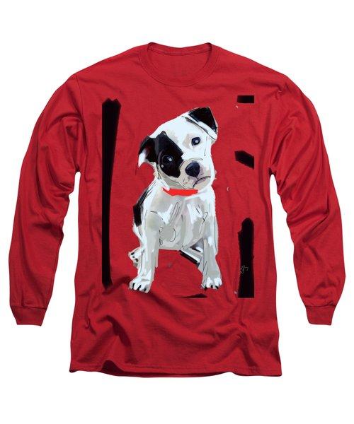 Dog Doggie Red Long Sleeve T-Shirt
