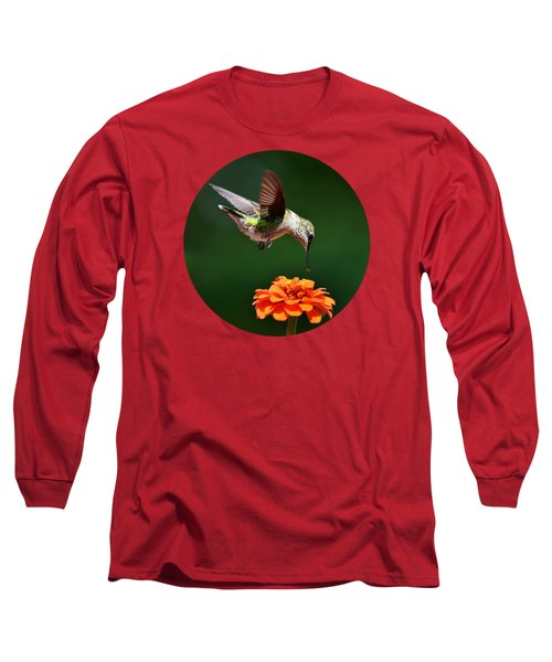 Hummingbird Bullseye Long Sleeve T-Shirt