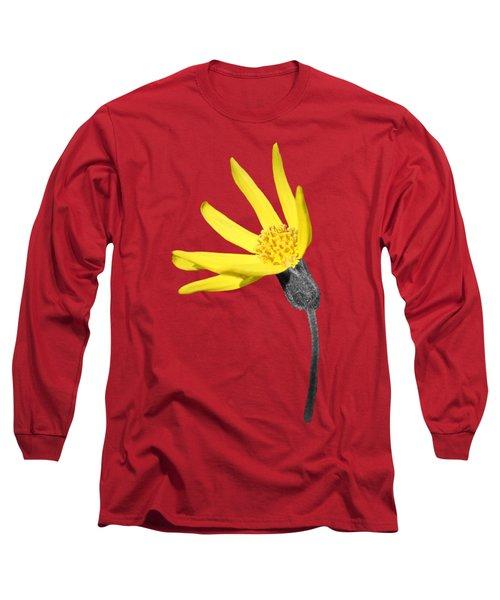 Yellow Wildflower Long Sleeve T-Shirt