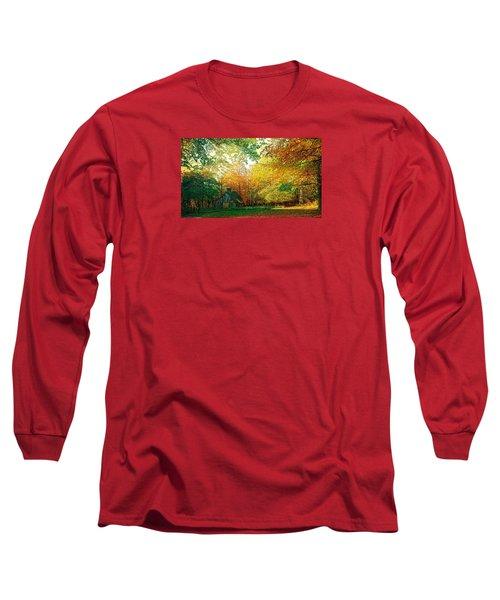 Ashridge Autumn Long Sleeve T-Shirt by Anne Kotan