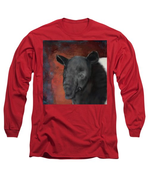 Asian Tapir Long Sleeve T-Shirt