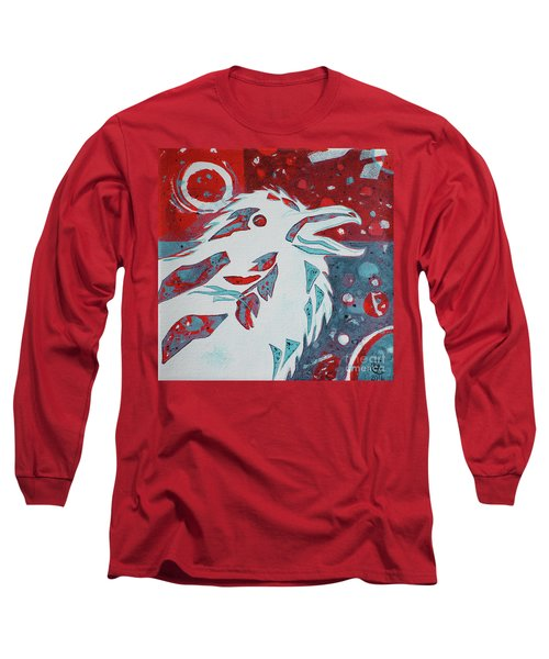 Assertion Long Sleeve T-Shirt by Cynthia Lagoudakis
