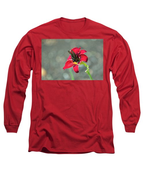 At One With The Orchid 2 Long Sleeve T-Shirt