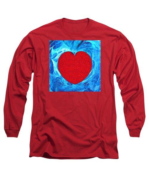 At The Heart Of The Matter Long Sleeve T-Shirt by Merton Allen
