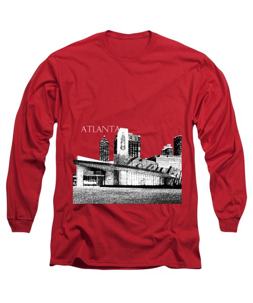Atlanta World Of Coke Museum - Dark Red Long Sleeve T-Shirt