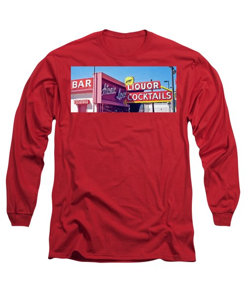 Atomic Liquors Long Sleeve T-Shirt by Matthew Bamberg
