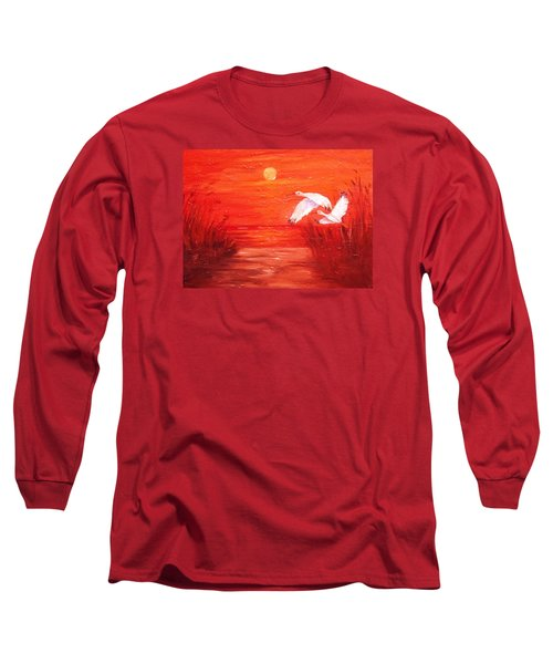 Auburn Nights Long Sleeve T-Shirt