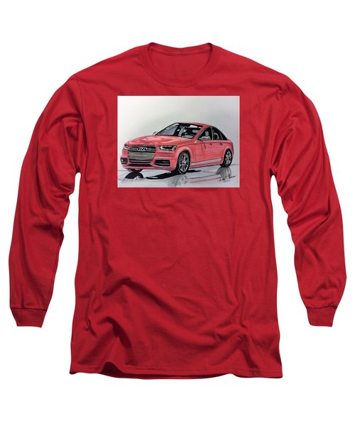 Audi S4 Long Sleeve T-Shirt by Kevin F Heuman