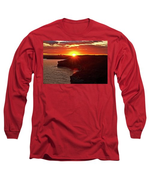 August Sunset From North Head Long Sleeve T-Shirt
