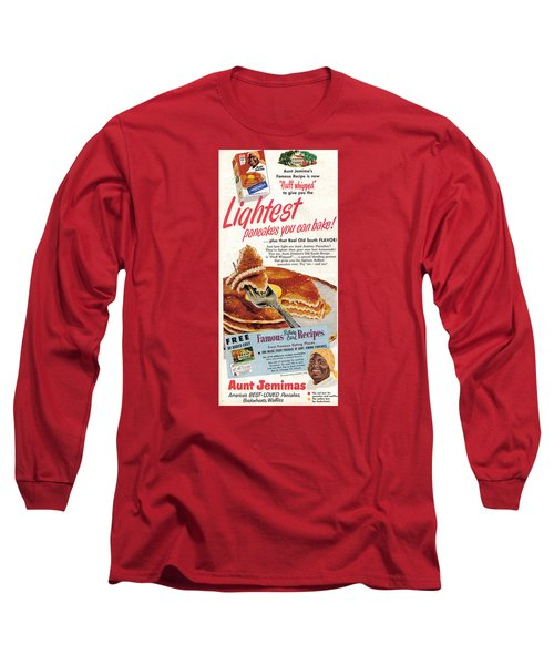 Aunt Jemima Pancakes Long Sleeve T-Shirt