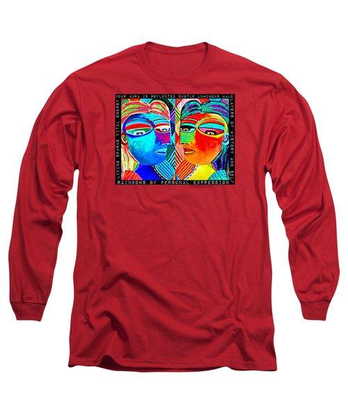 0 Aura Energy Refection Long Sleeve T-Shirt