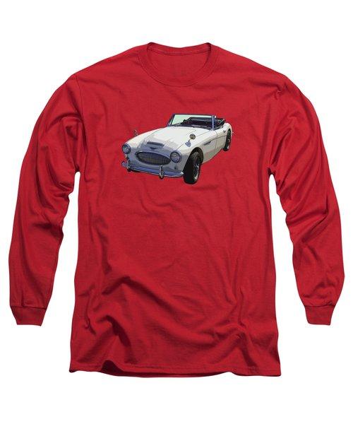 Austin Healey 300 Classic Convertible Sportscar  Long Sleeve T-Shirt