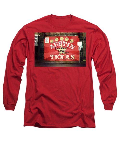 Austin Live Music Long Sleeve T-Shirt