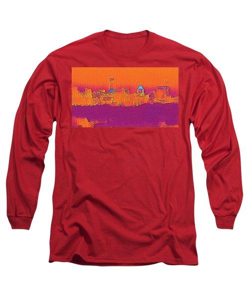 Austin Skyline Electric Long Sleeve T-Shirt
