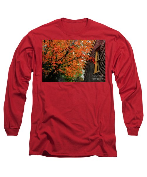 Autumn At The Window Long Sleeve T-Shirt