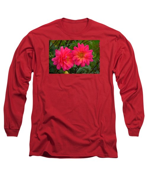 Long Sleeve T-Shirt featuring the photograph Autumn Colors Maine by Richard Ortolano